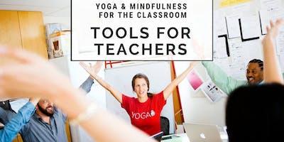 Yoga Ed. Tools for Teachers - Professional Development
