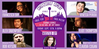 FREE TIX + FREE PIZZA @ Coast2Coast Comedy!