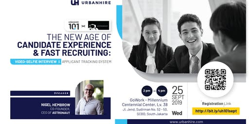 [FREE HR EVENT] Urbanhire 101 x Astronaut