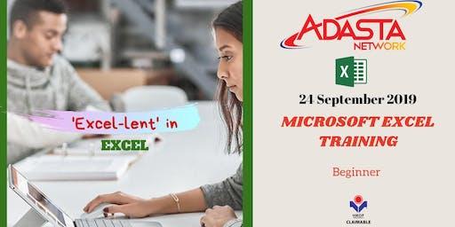 Microsoft Excel 2013/ 2016 Basic Training