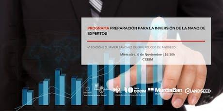PROGRAMA DE PREPARACIÓN PARA LA INVERSIÓN DE LA MANO DE EXPERTOS (4ª Ed.) entradas