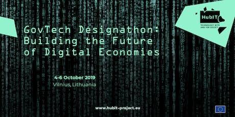 GovTech Designathon: Building the Future of Digital Economies tickets