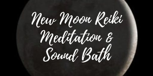 New Moon Reiki Meditation and Sound Bath Journey