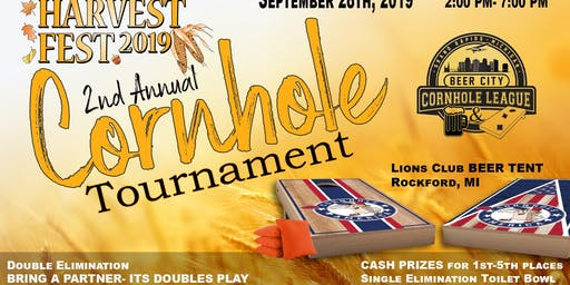 2nd Annual Harvest Festival 2019 Cornhole Tournament