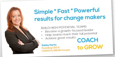 COACH to GROW Breakfast Keynote Event