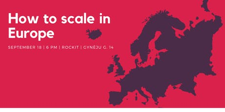 How to Scale in Europe tickets