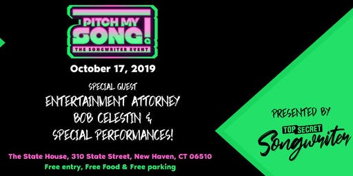 PITCH MY SONG! (The Songwriter Event)