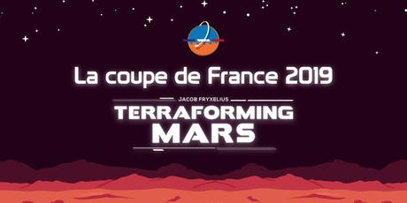 Coupe de France Terraforming Mars billets
