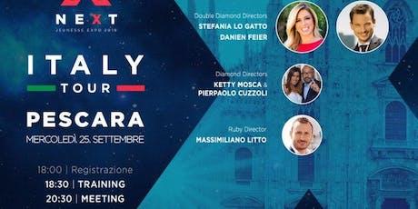 Next Italy Tour Pescara biglietti