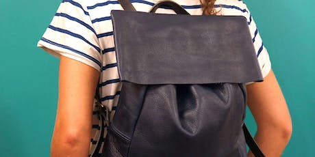MAKE A LEATHER BACKPACK IN A DAY tickets