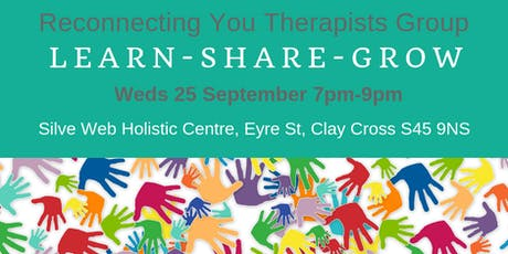 Reconnecting You Therapists Network 25 Sept 2019 tickets
