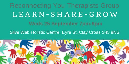 Reconnecting You Therapists Network 25 Sept 2019
