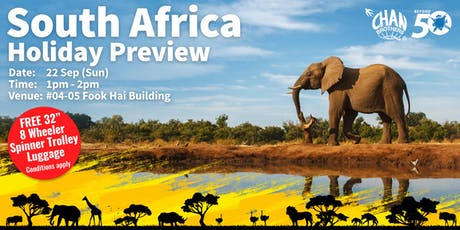 South Africa Holiday Preview tickets