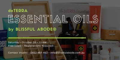 doTERRA Essential Oils Workshop by Blissful Abode®