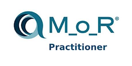 Management Of Risk (M_o_R) Practitioner 2 Days Training in Copenhagen tickets