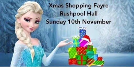 Frozen Xmas Shopping Fayre