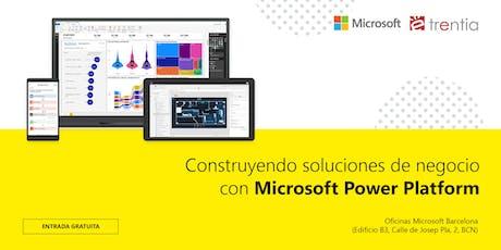 Construyendo soluciones de negocio con Microsoft Power Platform entradas