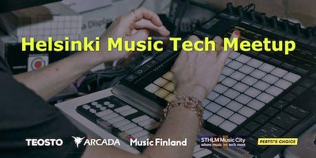 Helsinki Music Tech Meetup  tickets