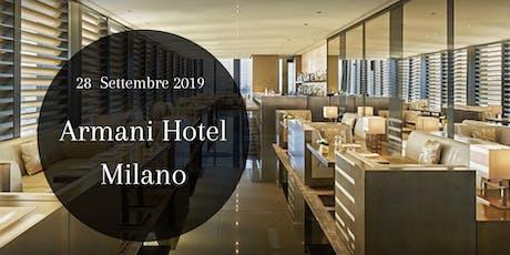 CFM / Armani HOTEL Milano - Cocktail Party biglietti
