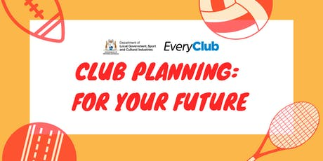 Club Planning : For Your Future tickets
