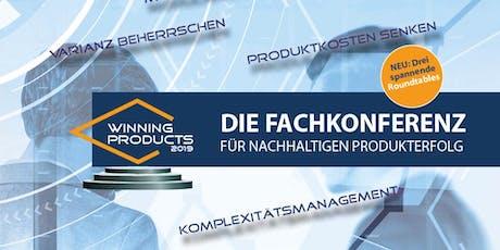 Winning Products 2019 - DIE Fachkonferenz für Produkterfolg Tickets