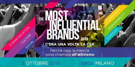 The Most Influential Brands 2019