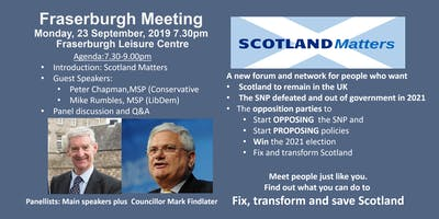 Fraserburgh Supporter Meeting
