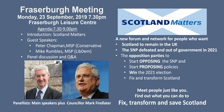 Fraserburgh Supporter Meeting tickets