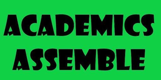 Academics Assemble!