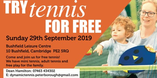 Tennis For Free with DynamicTennis