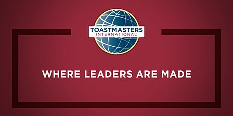 Wharf Speakers Toastmasters Public Speaking Club tickets