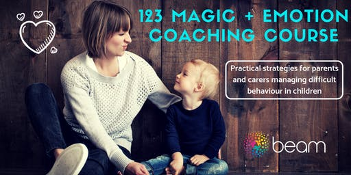 123 Magic + Emotion Coaching Course - Oct/Nov 2019