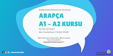 Her Cumartesi | Arapça A1 - A2 Kursu - 12:00 - #adnanotukenihk tickets