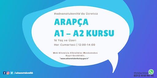 Her Cumartesi | Arapça A1 - A2 Kursu - 12:00 - #adnanotukenihk