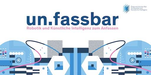 un.fassbar - Robotik und Künstliche Intelligenz zum Anfassen