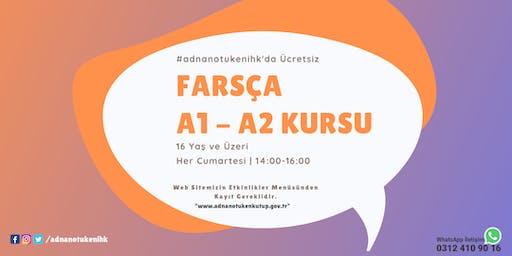 Her Cumartesi | Farsça A1 - A2 Kursu - Saat: 14:00 - #adnanotukenihk
