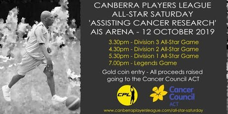 Canberra Players League (CPL) All-Star Basketball Exhibition tickets
