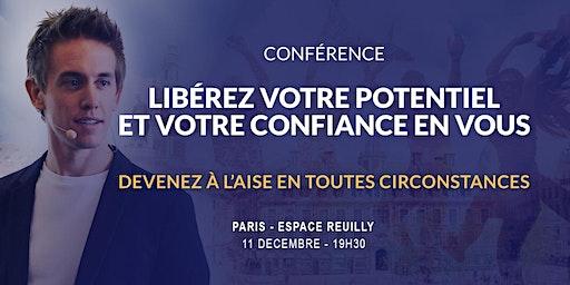 Paris 11/12/2019 - Conférence Libérez votre potentiel et votre confiance en vous - Espace Reuilly