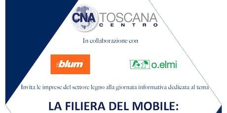 LA FILIERA DEL MOBILE:CONOSCERLA ED INNOVARLA tickets