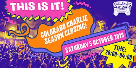 This is it! Colorado Charlie Season Closing 2019 tickets