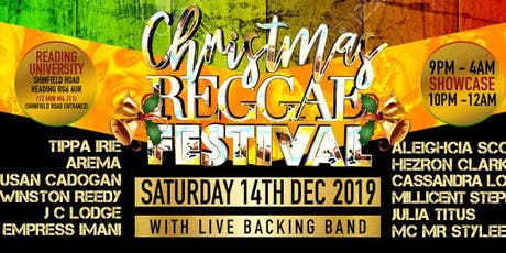 Christmas Reggae Festival tickets