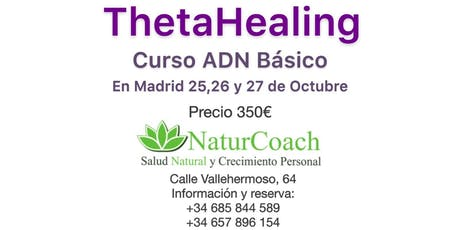 Thehahealing, curso ADN básico tickets