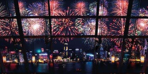 Aqua October 1st Fireworks