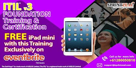 ITIL® V3 Foundation Certification Training in Darwin tickets