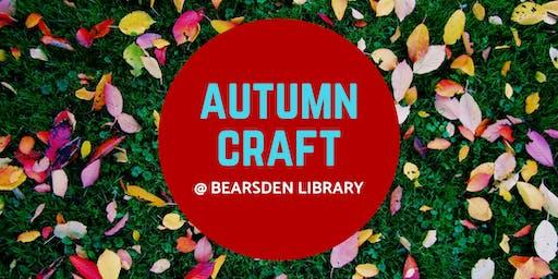 Autumn Craft @ Bearsden Library