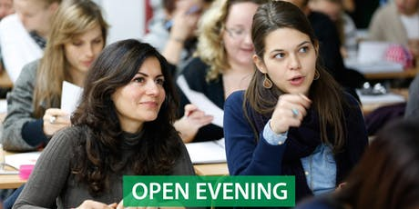 CNM Dublin - Free Open Evening tickets