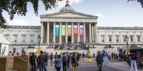 Visit UCL - London's Global University tickets