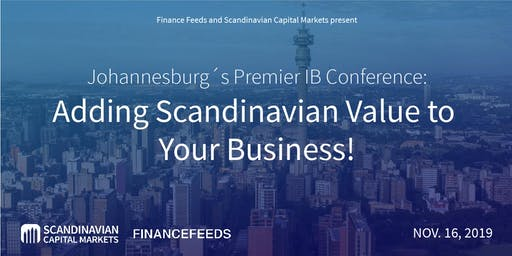 Johannesburg Forex Trading Conference - Meet the global leaders