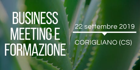 BUSINESS MEETING E FORMAZIONE biglietti