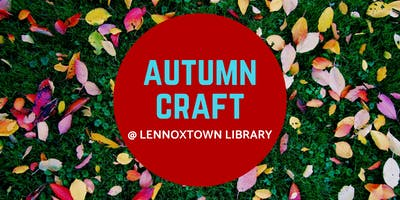 Autumn Craft @ Lennoxtown Library